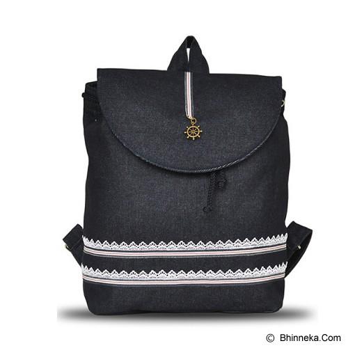 HEEJOU BAG Londa - Black - Backpack Wanita