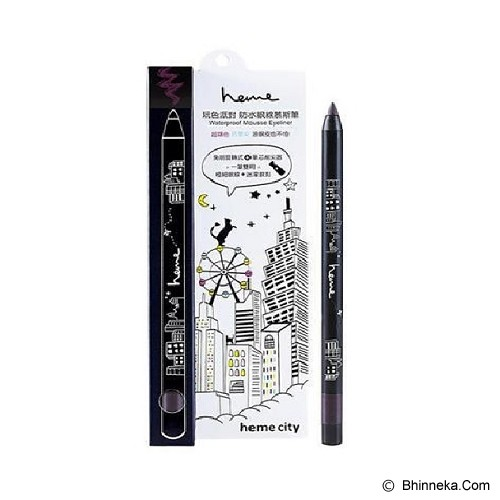 HEME Mousse Waterproof Eyeliner - Dark Purple - Eyeliner