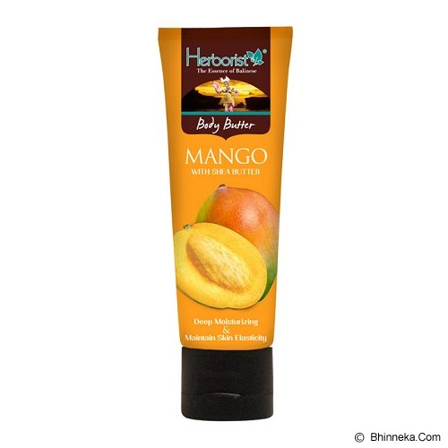 HERBORIST Body Butter Tube 80gr - Mango - Body Lotion / Butter
