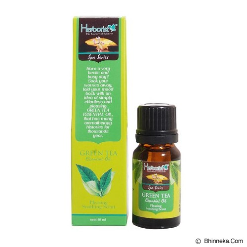 HERBORIST Essential Oil 10ml - Greentea - Aromatherapy / Lilin Terapi