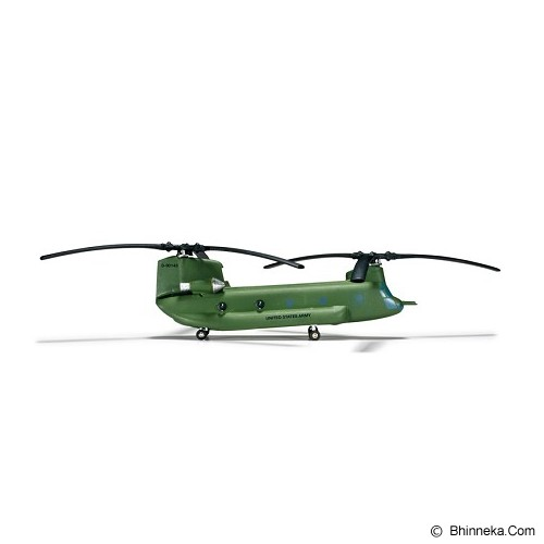 HERPA Army Boeing Vertol CH-47D Chinook B Company 5-158th Aviation Regiment Big Windy Katterbach Germany [H555807] - Die Cast