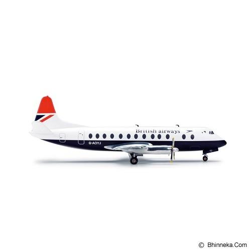 HERPA British Airways Vickers Viscount 800 [H554053] - Die Cast