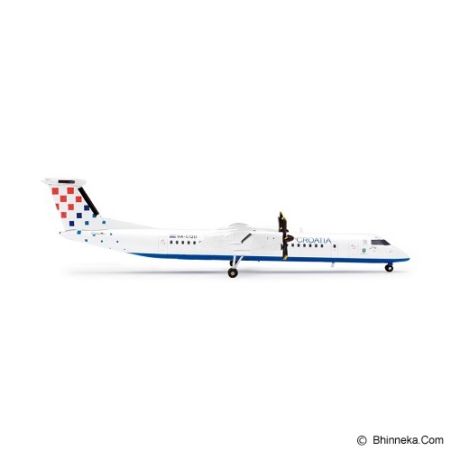 HERPA Croatia Airlines Bombardier Q400 [H554060] - Die Cast