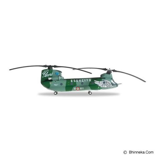 HERPA Italian Army Boeing Vertol CH-47C Chinook EI-801 Gruppo Squadroni Giove Reggimento Dell'Aviazione Dell'Esercito Antares Chinook 40 Years [H556781] - Die Cast