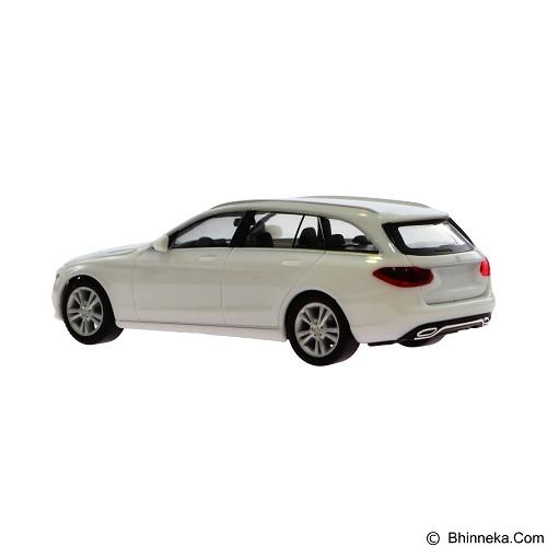 HERPA Miniatur Mobil Mercedes Benz C Class T Avantgarde [028431-002] - Polar White (Merchant) - Die Cast