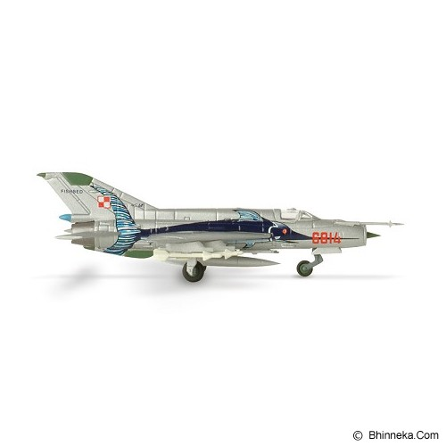 HERPA Polish Air Force 3. ELT 45th Anniversary Mikoyan MiG-21MF [H552363] - Die Cast