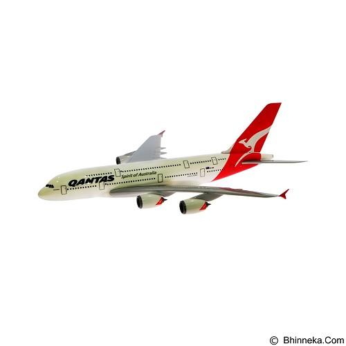 HERPA Qantas New Colors A380 800 [608374] (Merchant) - Die Cast
