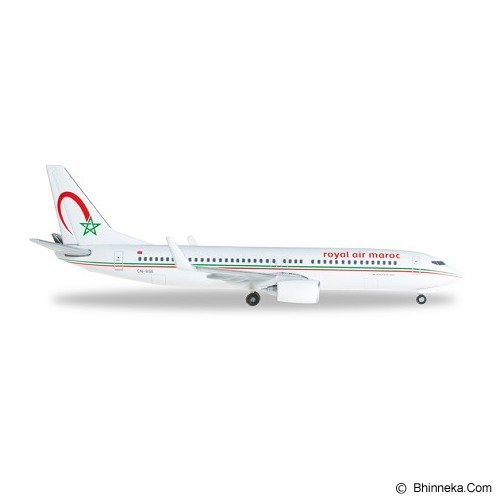 HERPA Royal Air Maroc Boeing 737-800 [H527453] - Die Cast