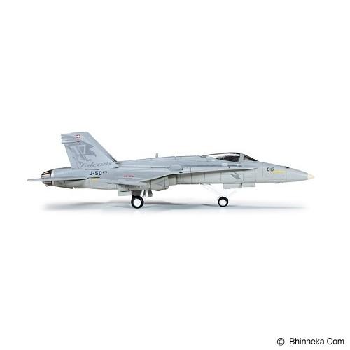 HERPA Schweizer Luftwaffe F-18 McDonnell Douglas F/A-18C Hornet Solo Display Team [H554718] - Die Cast