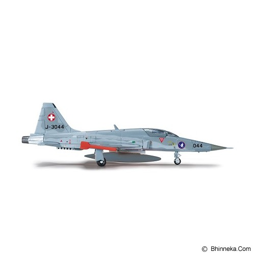HERPA Swiss Air Force Northrop F-5E Tiger II Fliegerstaffel 19 Sion Air Base [H556309] - Die Cast