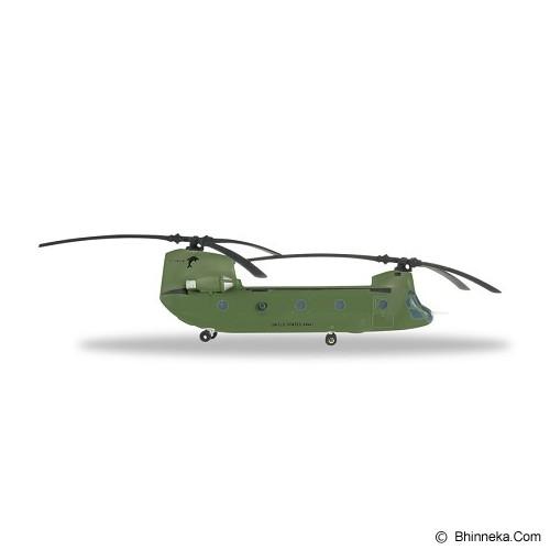 HERPA US Army Boeing Vertol CH-47F Chinook 3d Battalion 82d Combat Aviation Brigade 3-82 Bravo Company Flippers [H556644] - Die Cast