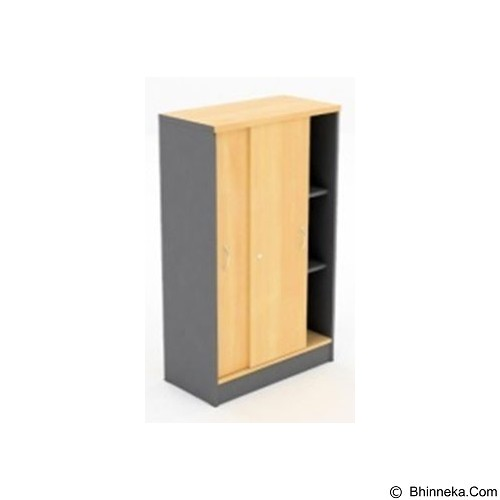 HIGH POINT Lemari Arsip Tinggi Pintu Slide [SLO17912] - Oxford - Filing Cabinet / Lemari Arsip