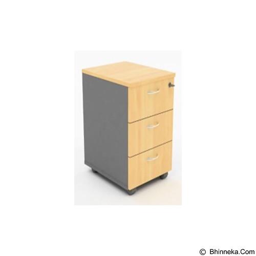 HIGH POINT Mobile Pedestal 3 Drawer [MBO14050] - Oxford Cherry - Drawer