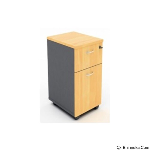 HIGH POINT Mobile Pedestal Drawer + Filling [MBO14060] - Oxford Cherry - Drawer