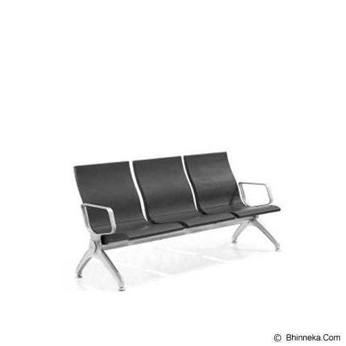 HIGH POINT Monterey 3 Seaters [PU309] - Kursi Tunggu