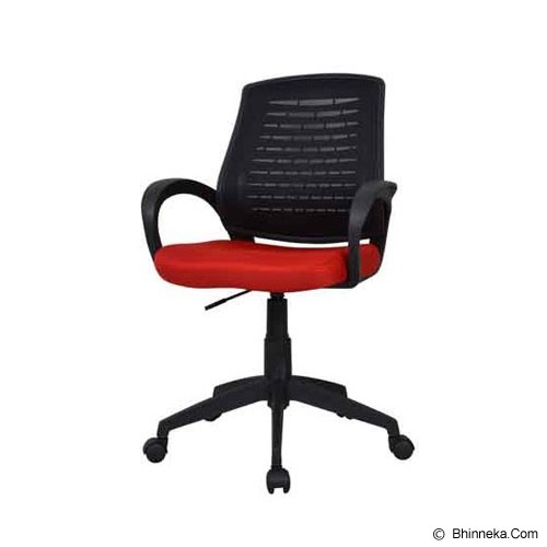 HIGH POINT Office Chair Austin [W120A] - Red - Kursi Kantor