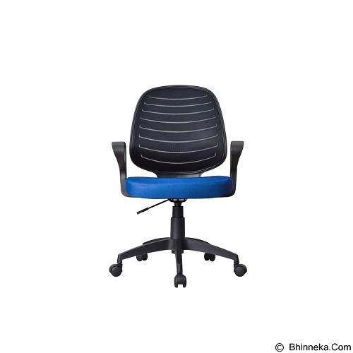 HIGH POINT Office Chair Austin [W131A] - Blue - Kursi Kantor