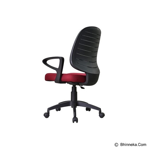 HIGH POINT Office Chair Austin [W131A] - Red - Kursi Kantor