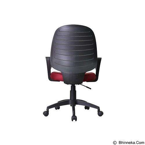 HIGH POINT Office Chair Austin [W131A] - Red - Kursi Kantor
