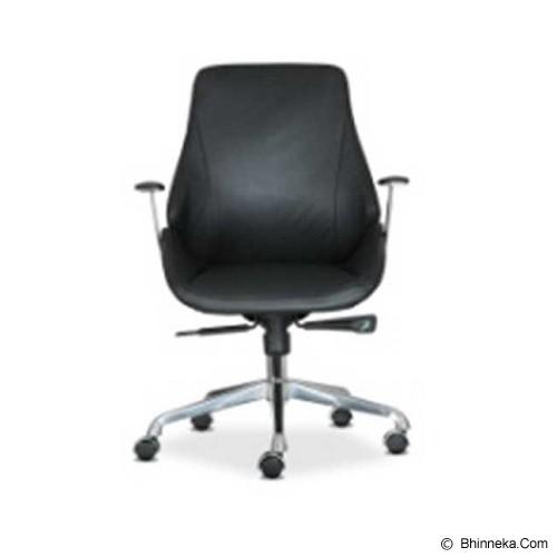 HIGH POINT Office Chair Novara [A8258-1] - Black - Kursi Kantor