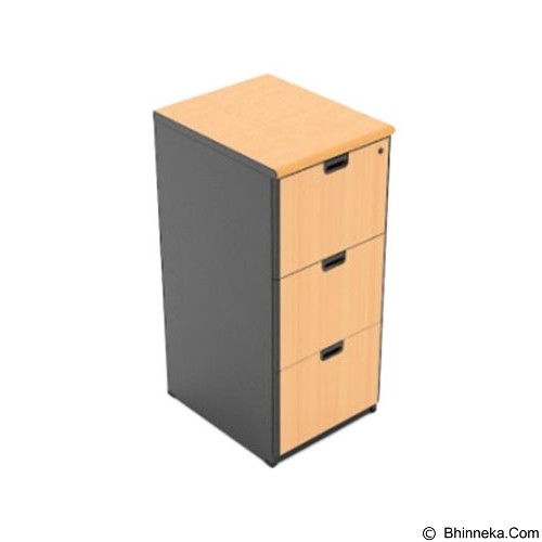 HIGH POINT One Filing Cabinet 3 drawer [FL1733] - Filing Cabinet / Lemari Arsip