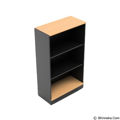 HIGH POINT One High Open Shelf Cabinet with Base [ST330A] - Filing Cabinet / Lemari Arsip