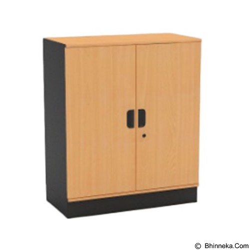 HIGH POINT One Medium Swing Door Cabinet with Base [ST371] - Filing Cabinet / Lemari Arsip