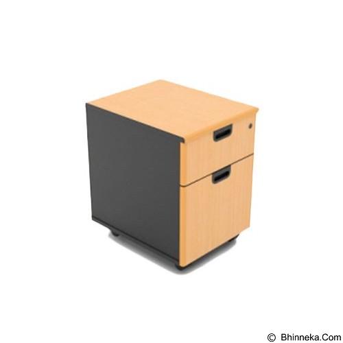 HIGH POINT One Mobile Pedestal 1 Drawer + Filing [MB136] - Drawer