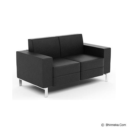 HIGH POINT Preston 2 Seater [SF03012] - Kursi Sofa