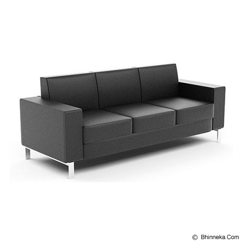 HIGH POINT Preston 3 Seater [SF03013] - Kursi Sofa