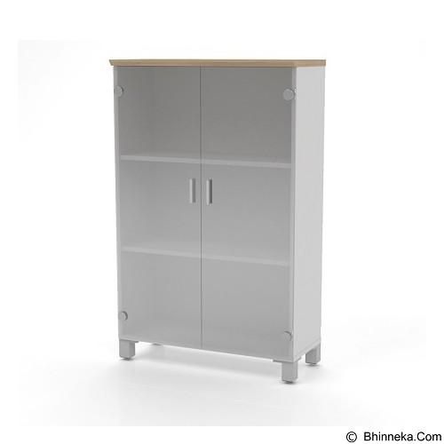 HIGH POINT Six Lemari Arsip [ST6001-00-8091-68 + CB6101] - Cappucino - Filing Cabinet / Lemari Arsip