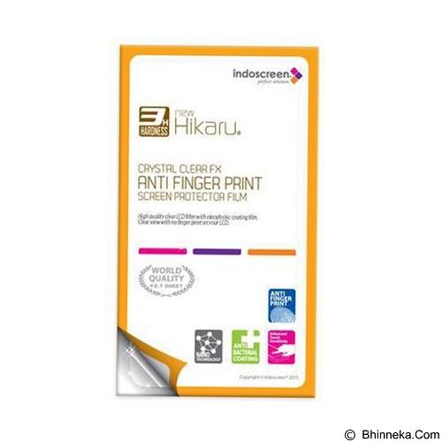NEW HIKARU Anti Finger Print for Apple iPhone 4 [HAFP-134] - Clear (Merchant) - Screen Protector Handphone