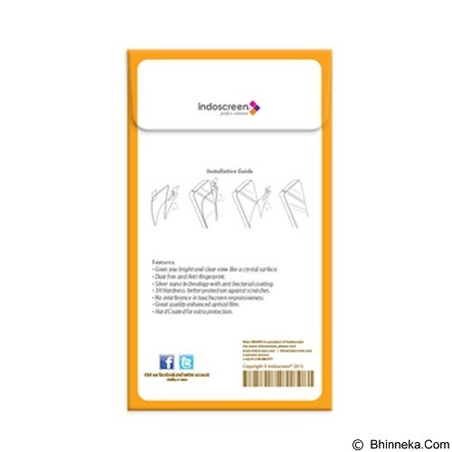 NEW HIKARU Anti Finger Print for Oppo Find Piano R8113 [HAFP-106] - Clear (Merchant) - Screen Protector Handphone