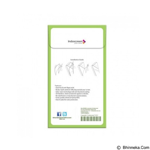 NEW HIKARU Anti Gores For Apple iPhone 4G Full Set [HKR0130] - Clear (Merchant) - Screen Protector Handphone