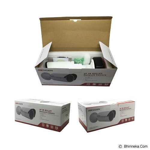HIKVISION Medusa Camera IP 2.8-12MM [DS-2CD2620F-IS] - White - Ip Camera