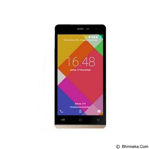 HIMAX Polymer 3 (8GB/1GB RAM) - Gold (Merchant) - Smart Phone Android