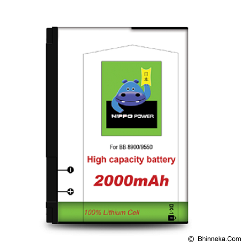 HIPPO Battery Blackberry 8900/9500/9530/9550/9630 2000mAh - Handphone Battery