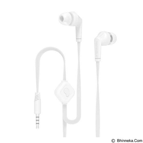 HIPPO Hip Original Handsfree for Smartphone Extra Bass - White (Merchant) - Earphone Ear Monitor / Iem