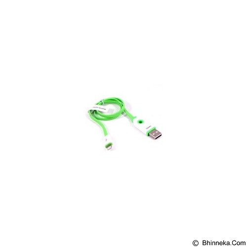 HIPPO Kabel USB Teleport Iphone5 45cm - Green - Cable / Connector Usb
