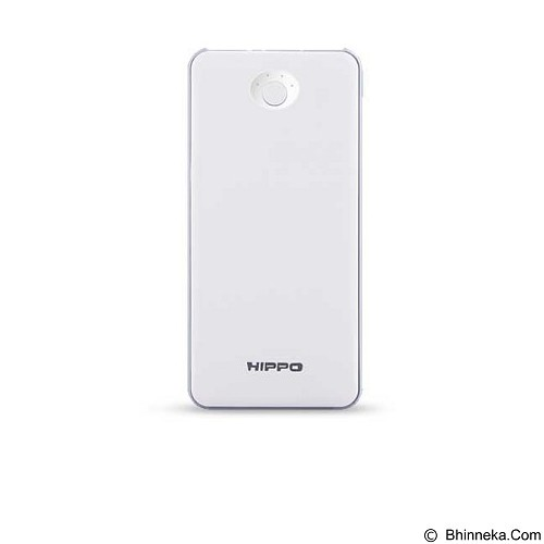 HIPPO Marse Power Bank 10000mAh Simple Pack - White (Merchant) - Portable Charger / Power Bank