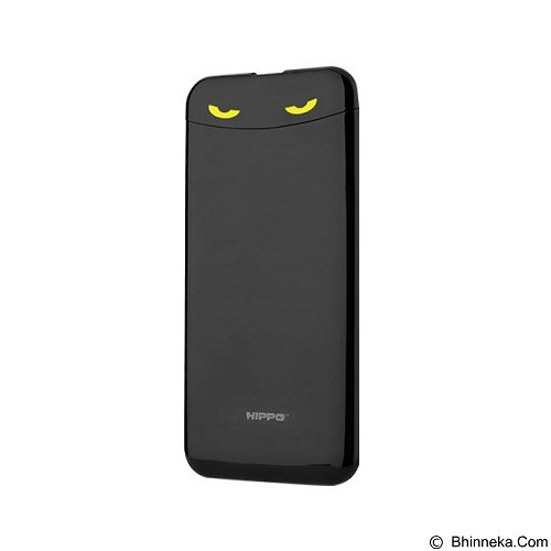HIPPO Power Bank Eyes 7000mAh Simple Pack - Black - Portable Charger / Power Bank