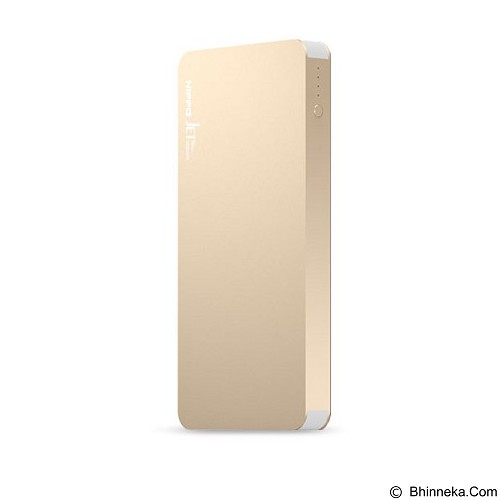 HIPPO Power Bank Jet 5000mAh - Gold (Merchant) - Portable Charger / Power Bank