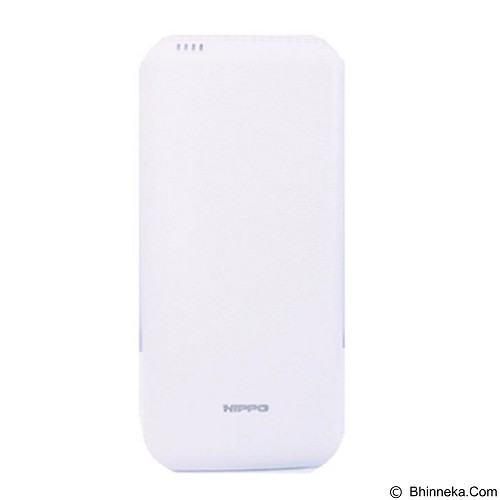 HIPPO Power Bank Smore Simple Pack 24000 mAh - White - Portable Charger / Power Bank