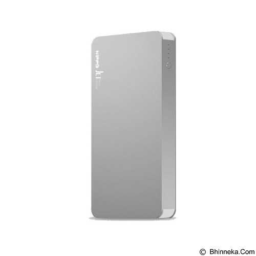HIPPO Powerbank Jet 5000mAh - Silver (Merchant) - Portable Charger / Power Bank