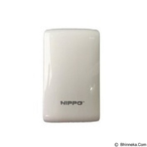 HIPPO Powerbank Luna Simple Pack 9000mAh - White (Merchant) - Portable Charger / Power Bank