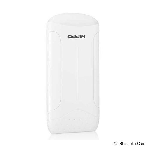 HIPPO Powerbank Moza 10000mAh Simple Pack - White (Merchant) - Portable Charger / Power Bank