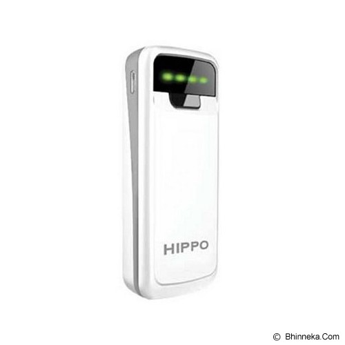 HIPPO Powerbank Snow 5800mAh - White - Portable Charger / Power Bank