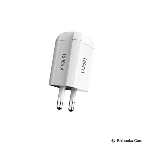 HIPPO USB Adaptor Dynamic Simple Pack - White - Universal Charger Kit