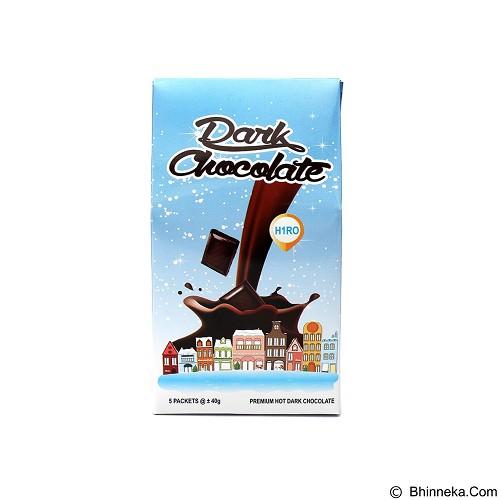 HIRO ONE 10 Pack Dark Chocolate Isi 50 Bag [HD_004] (Merchant) - Coklat Bubuk & Kemasan