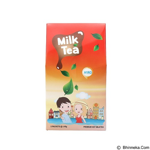 HIRO ONE 10 Pack Milk Tea Bag isi @5 pcs [HM_004] (Merchant) - Teh Instan & Celup